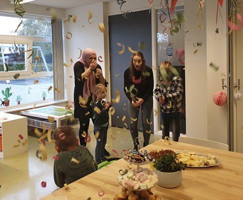 Afgelopen maandag 4 november is onze nieuwste BSO in het Kulturhus Oene feestelijk geopend. We bieden met Kabouter Spillebeen ook peuteropvang aan.